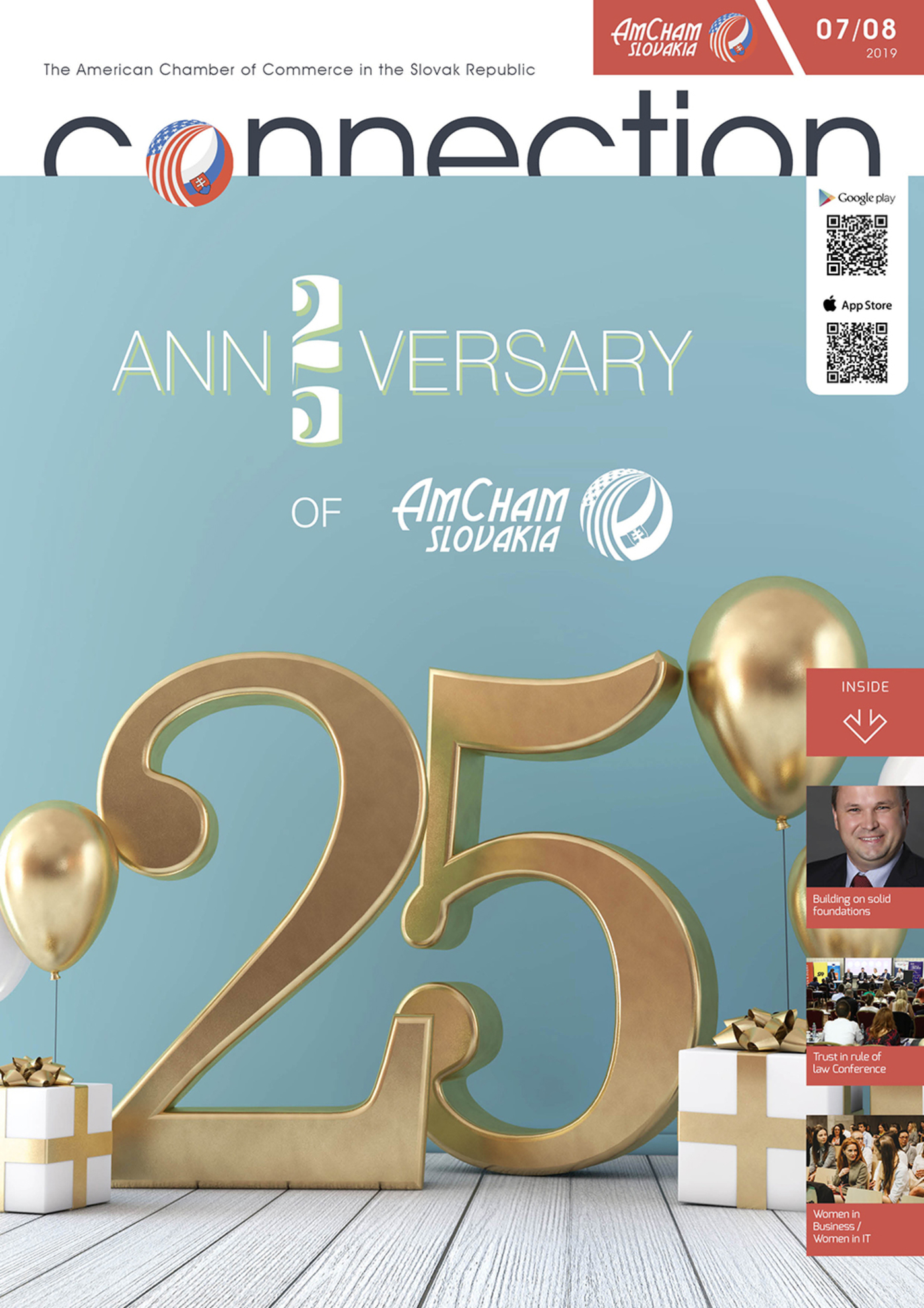 2019-4 / 25 Years of AmCham in Slovakia